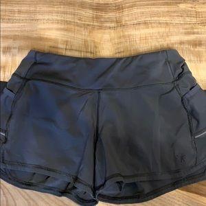 Athleta running shorts